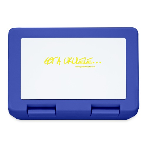Official Got A Ukulele website t shirt design - Lunchbox