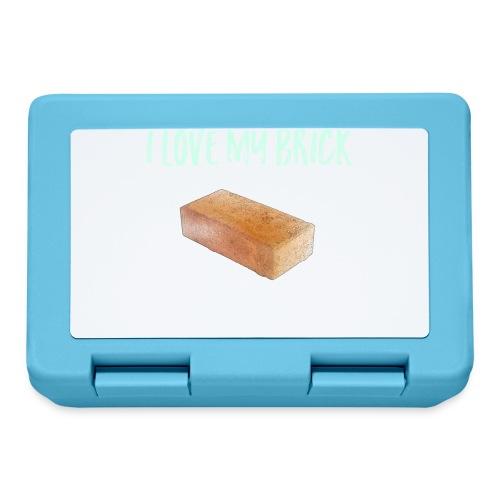 I love my brick - Lunchbox