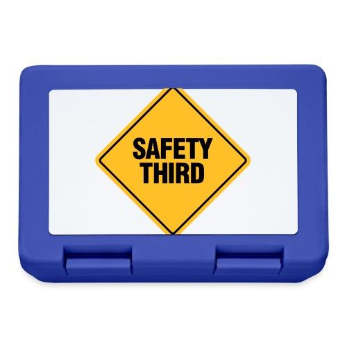 SAFETY THIRD - Lunchbox