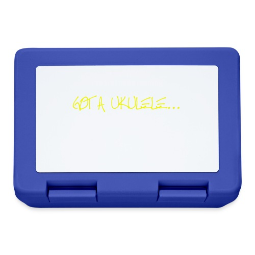 Got A Ukulele Grumpy - Lunchbox