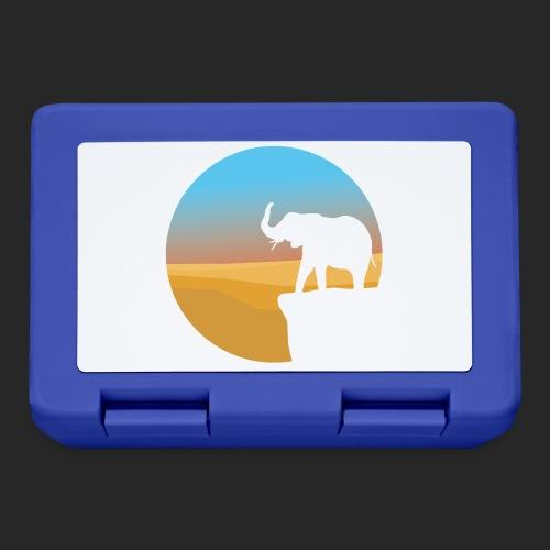 Sunset Elephant - Lunchbox
