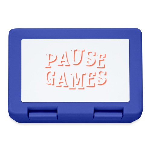 Pause Games Text - Lunchbox