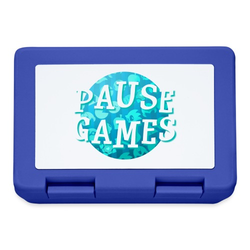 Pause Games New Design Blue - Lunchbox