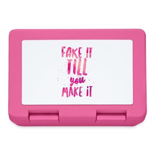Fake it till you make it - Fiambrera
