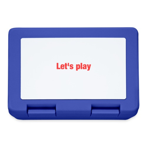 Let's play - Lunchbox