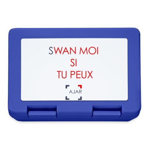 Swan moi - Rouge - Boîte à goûter.
