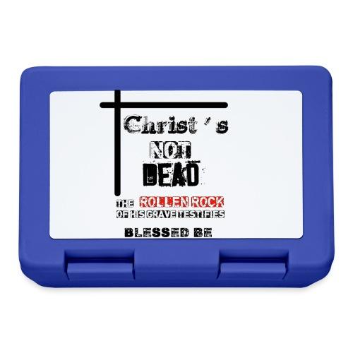 Christ's Not Dead - Boîte à goûter.