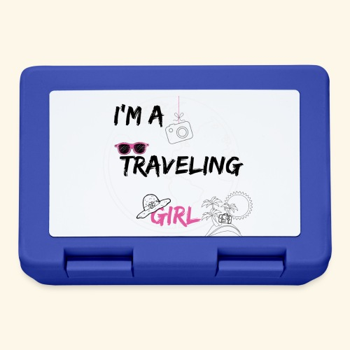I'm a traveling girl - Lunch box