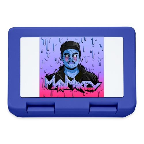MadMikey Grime Art Blue Bastard - Broodtrommel
