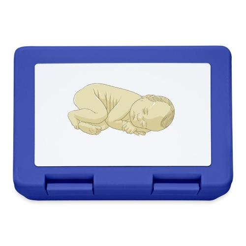schlafendes Baby - Brotdose