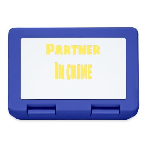 Partner in crime yellow - Matlåda