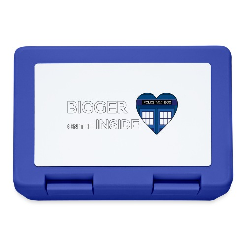 Tardis Heart - Lunchbox
