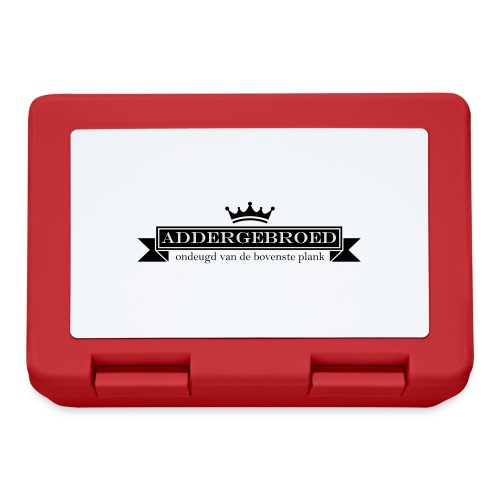 Addergebroed - Broodtrommel