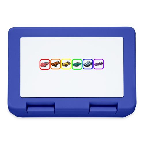 Rainbow Cars - Lunchbox