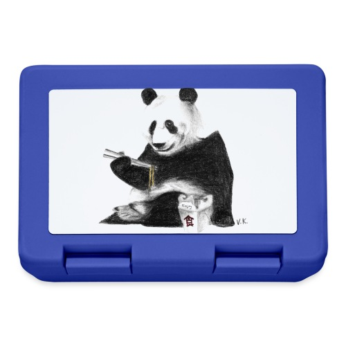 Panda Eating Noodles - Lunchbox