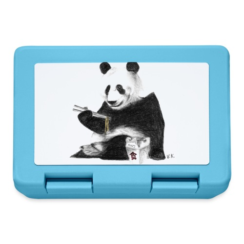 Panda Eating Noodles - Lunchbox
