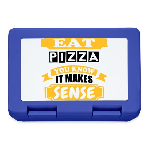 Eat Pizza - Lunchbox