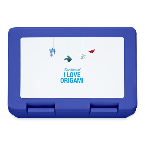 keep kalm and love origami versione estate - Lunch box