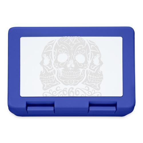 Skull Dia de los muertos - Boîte à goûter.