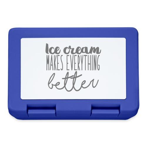 Ice Cream Makes Everything Better - Fiambrera