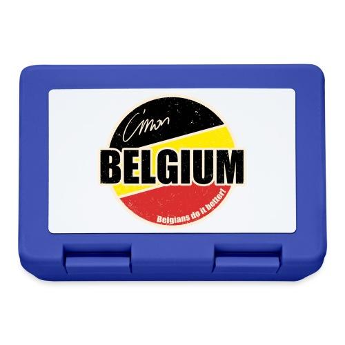 Cmon Belgium - Broodtrommel