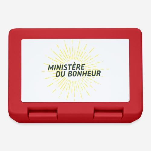 Ministère du Bonheur - Boîte à goûter.