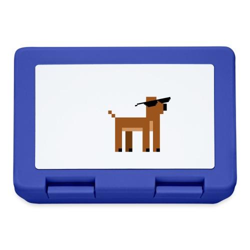 Christmas Xmas Deer Pixel Funny - Lunchbox