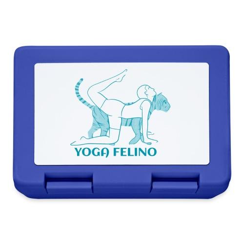 t shirt design YOGA FELINO - Lunch box