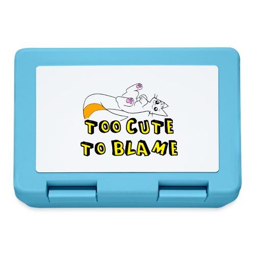 Too Cute To Blame - Lunchbox