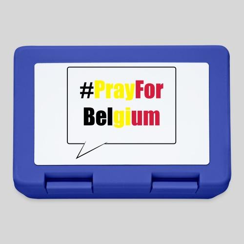 #PrayForBelgium - Boîte à goûter.