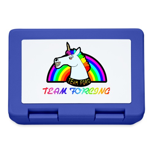 Logo officiel de la team forcing - Boîte à goûter.
