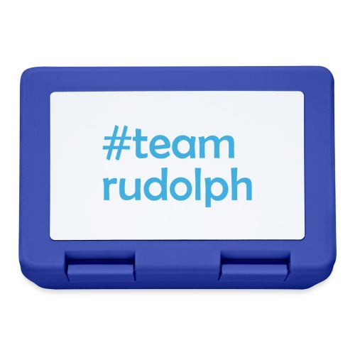 # team rudolph - Christmas & Weihnachts Design - Brotdose