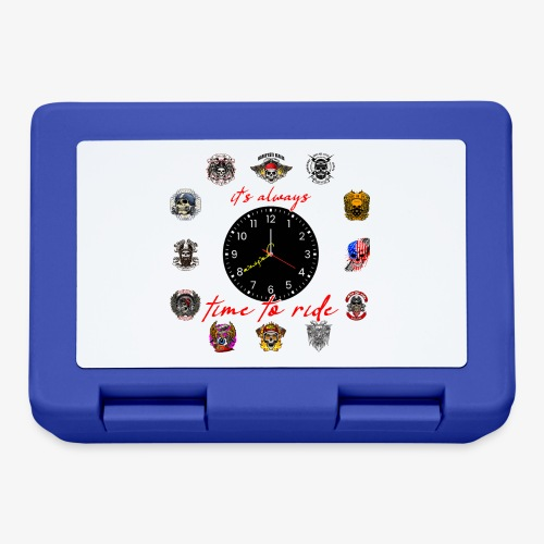 It's always time to ride - Collection - Lunch box
