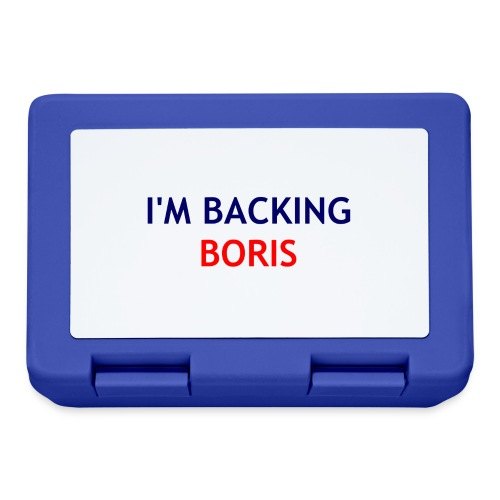 Backing Boris - Boxer Shirts - Lunchbox