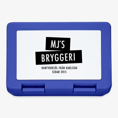MJs logga - Matlåda