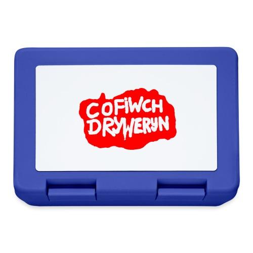 Cofiwch Dryweryn - Lunchbox