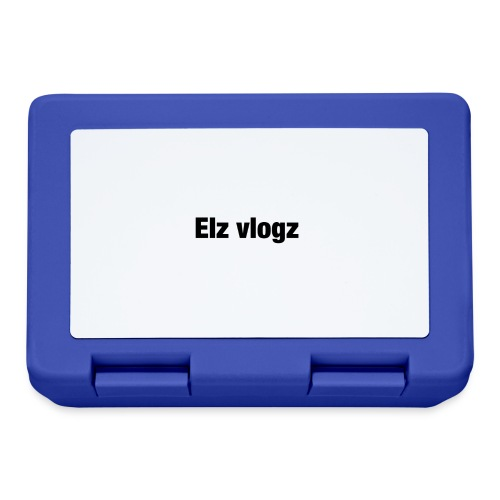 Elz vlogz merch - Lunchbox
