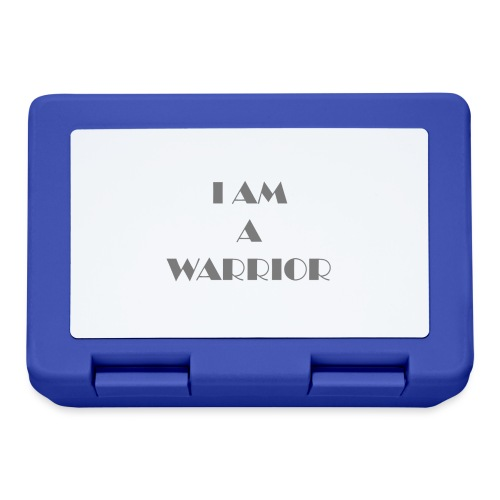I am a warrior - Lunchbox