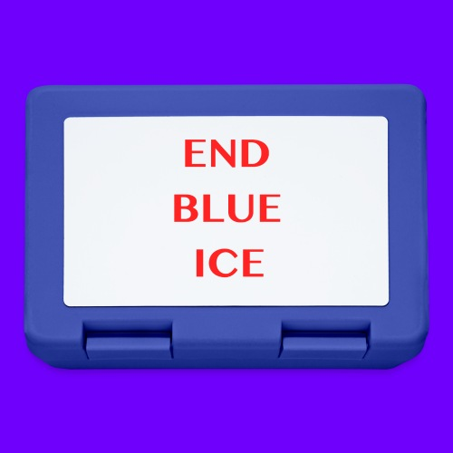 END BLUE ICE - Lunchbox