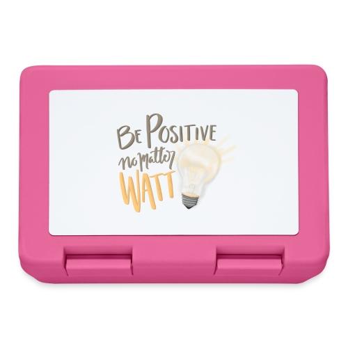 Be Positive no matter WATT - Matlåda