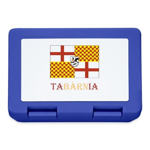 Bandera Tabarnia con escudo y nombre - Fiambrera