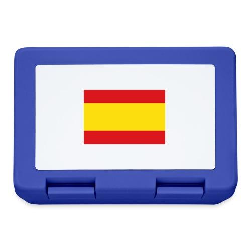 vlag van spanje - Broodtrommel