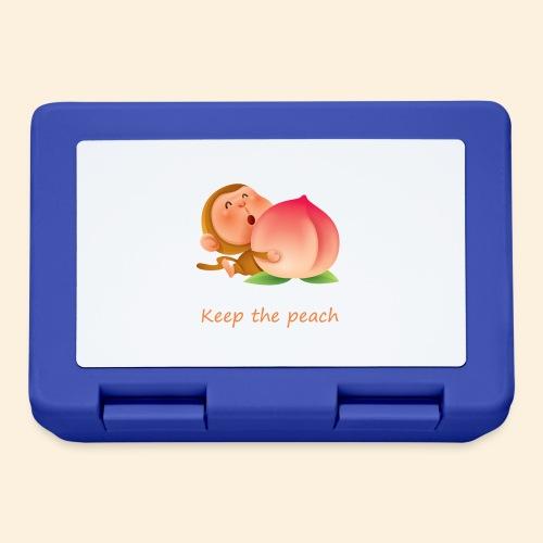 Monkey Keep the peach - Boîte à goûter.