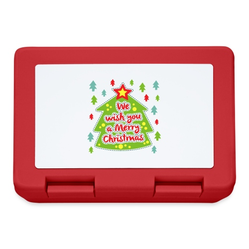 We wish you a Merry Christmas - Lunchbox