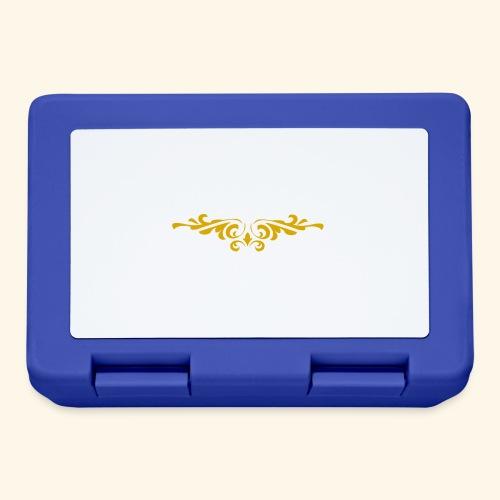 Ilustraccion de un diseño dorado - Fiambrera