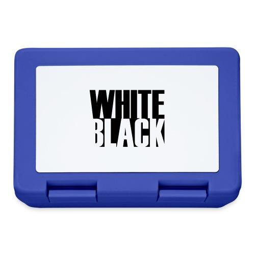 White, Black T-shirt - Broodtrommel