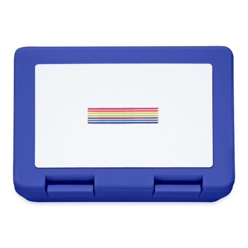 Colored lines - Lunchbox