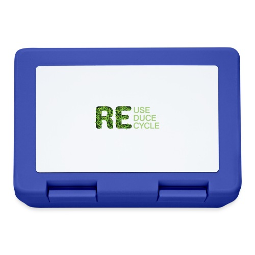 REuse REduce REcycle - Lunch box