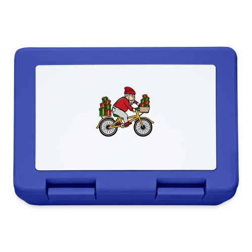 Winter Cyclist - Lunchbox