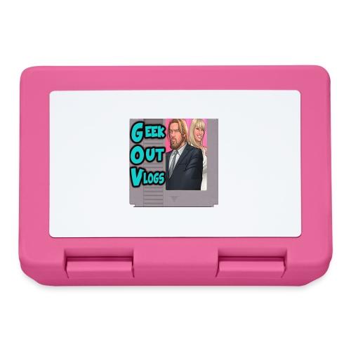 GeekOut Vlogs NES logo - Lunchbox